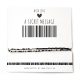 Armband Barcode GO FOR IT! | Goud of Zilver