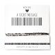 Armband Barcode IK HEB JE LIEF | Goud of Zilver