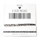 Armband Barcode IK ZIE U GRAAG | Goud of Zilver