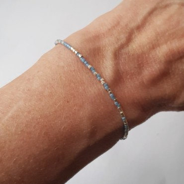 Armband Barcode LOVE YOU | Goud of Zilver