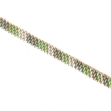 Armband Woven Treasure Stripes