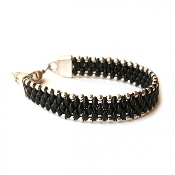 Armband Woven Treasure Zwart