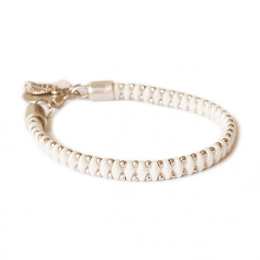 Armband Woven Treasure  Small Wit