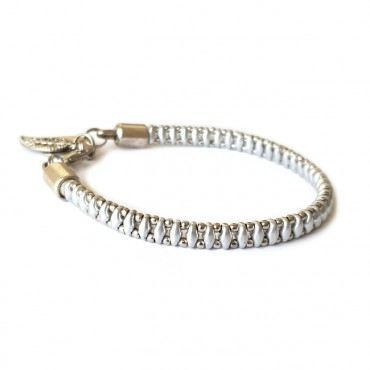 Armband Woven Treasure  Small Zilver