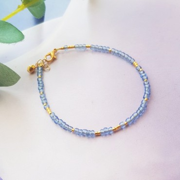 Armband | FINE | rocaille | Blauw