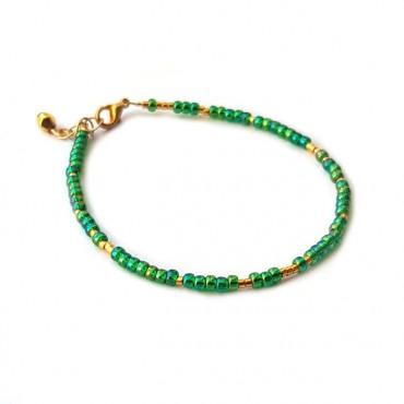 Armband | FINE | rocaille | Groen