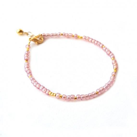 Armband | FINE | rocaille | Roze