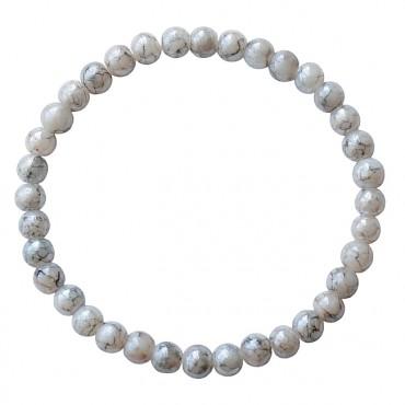 Armband | MIXIT | elastic grijs gemêleerd