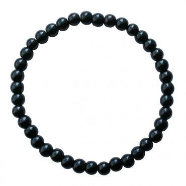Armband | MIXIT | elastic zwart