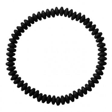 Armband Basic Glas Ufo zwart