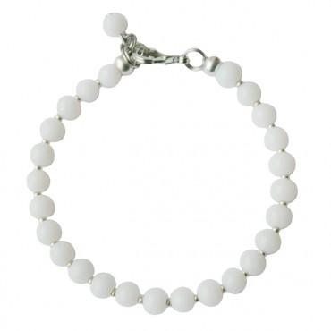 Armband | MIXIT | rond wit opal