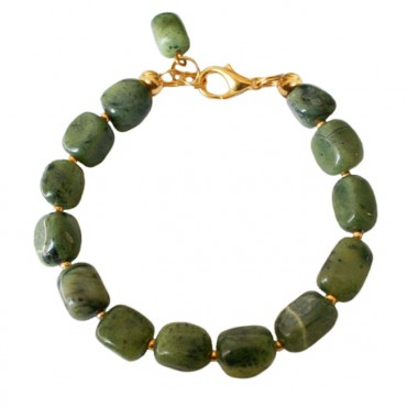 Armband basic jade large