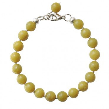 Armband basic jade 8mm