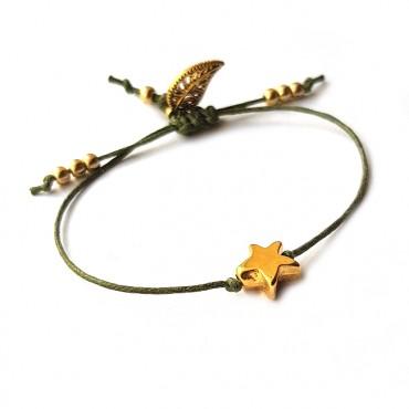 Armband Macramé Star