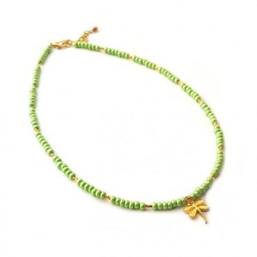 Ketting | Libelle | groen