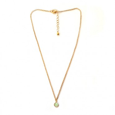 Ketting | FINE | Crystal | Chrysolite