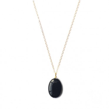 Ketting Agaat Gold Filled (ook in zilver)