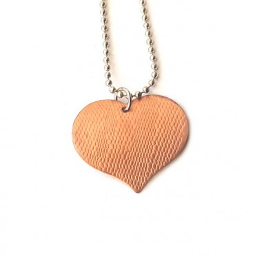 Ketting | FINE LACE Copper Heart