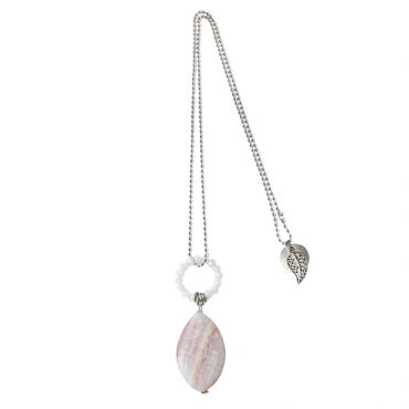 Hanger agaat roze D'Luxe