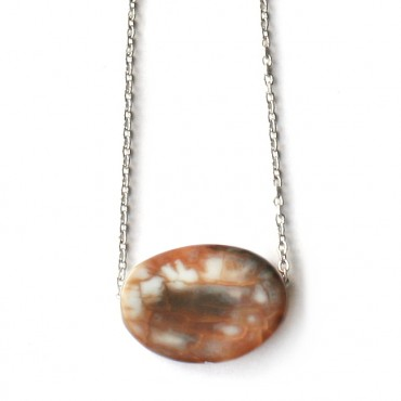 Ketting Agate Brown