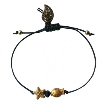 Armband Basic SEA Zwart