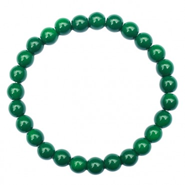 Armband Glas 8mm groen