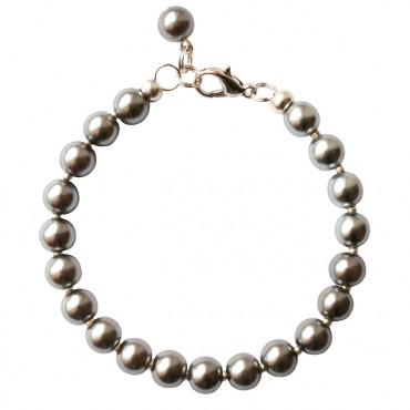 Armband Glasparel MixIt  A124, grijs