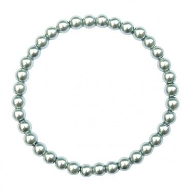 Armband Glasparel MixIt  A125, grijsblauw