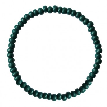 Armband basic glas 4mm emerald