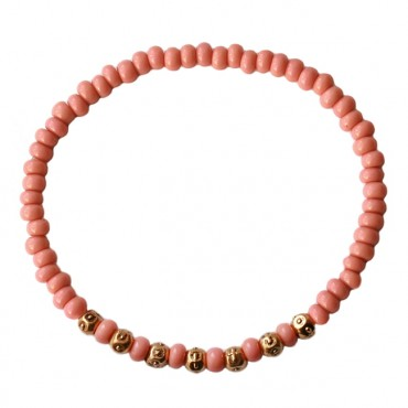 Mix & Match armband A52, roze