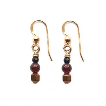 Oorbellen TINY beads