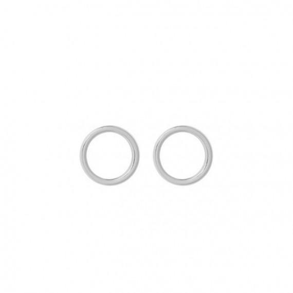 Oorknopjes 925 Zilver Circle