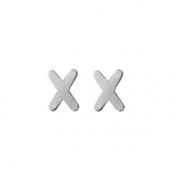 Oorknopjes 925 Zilver X