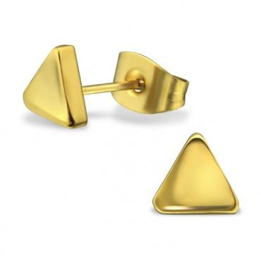 Oorknopjes | SELECT | RVS | Triangle goud