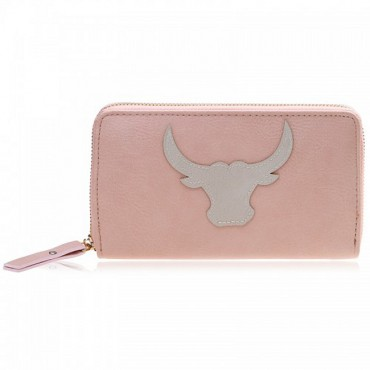Portemonnee Buffalo roze