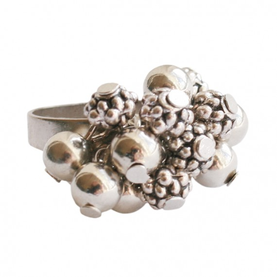 Ring metaal mixed beads