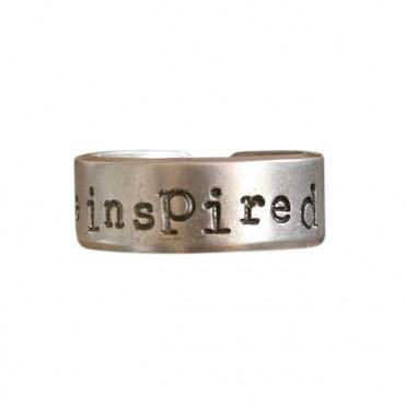 Ring BE INSPIRED zwart
