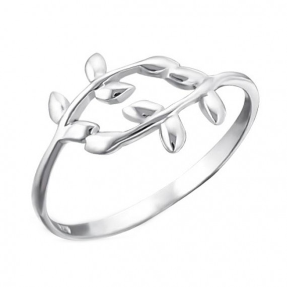 Ring | SELECT | 925 Zilver | blad