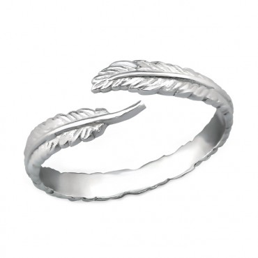 Ring 925 Sterling Zilver, veer
