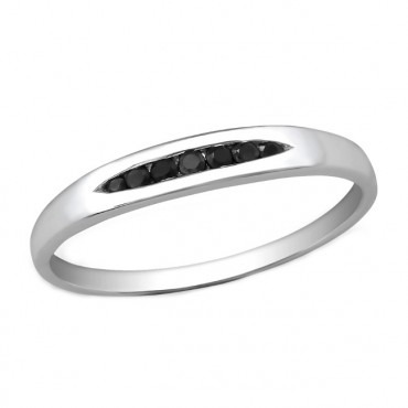 Ring 925 Sterling Zilver, zirkonia