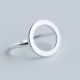 Ring 925 Sterling Zilver Cirkel